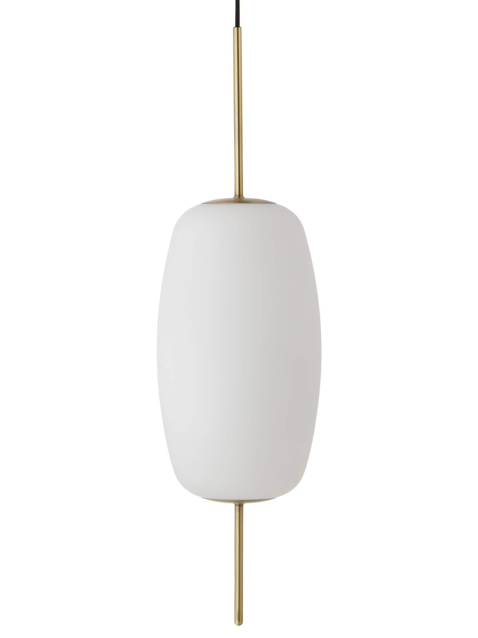 Hängeleuchte aus Opalglas Silk L- Frandsen