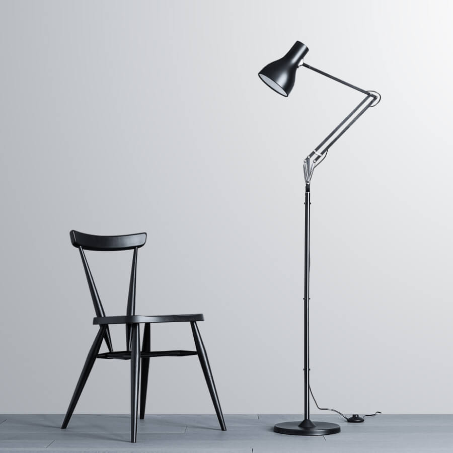 Lampadaire Anglepoise Type 75