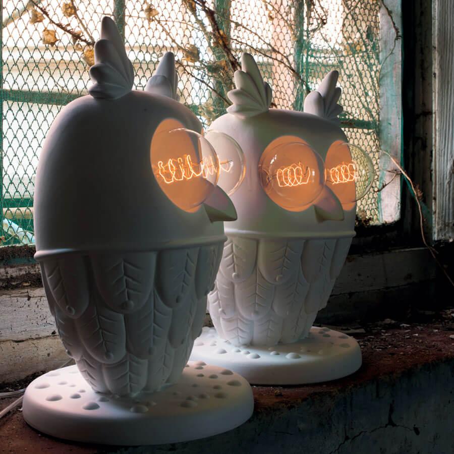 Lampe de table Hibou Karman