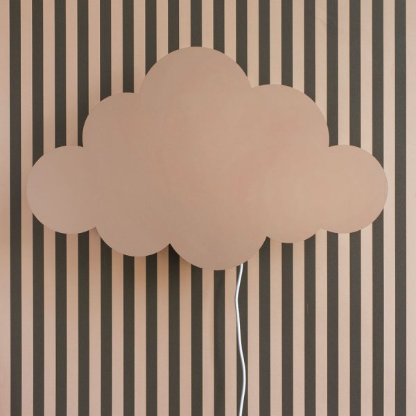 Applique murale nuage Rose Ferm Living