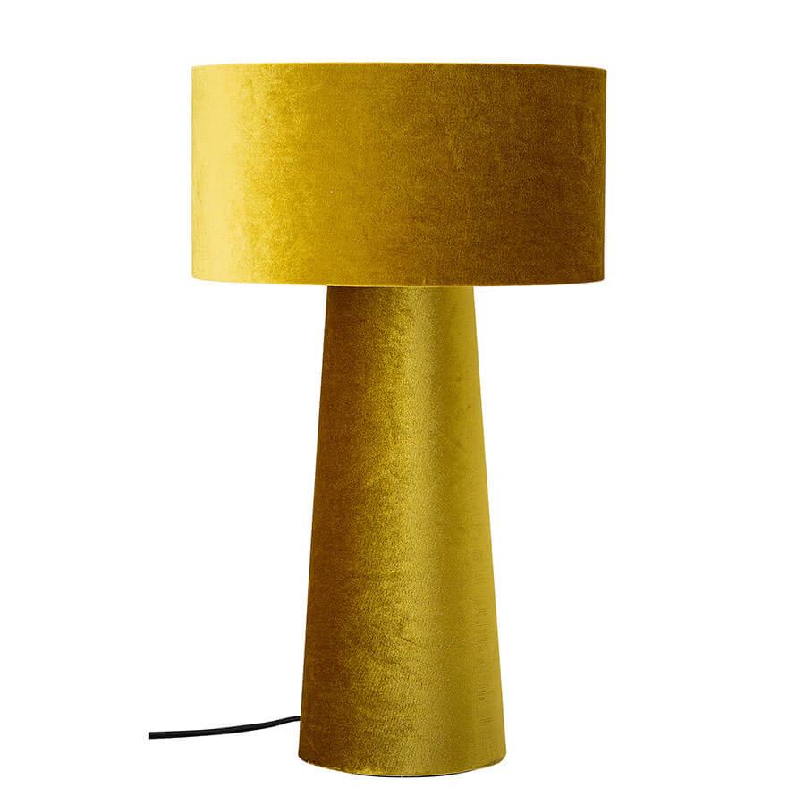Lampe de table velours Dafna Bloomingville
