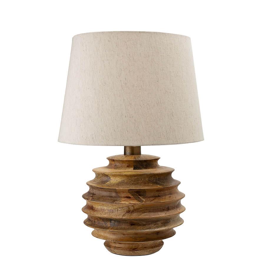 Lampe de table en bois manguier Svale Bloomingville