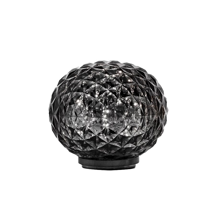 Lampe sans fil Mini Planet - Kartell - Cristal - LED ∅ 16 cm - Variateur