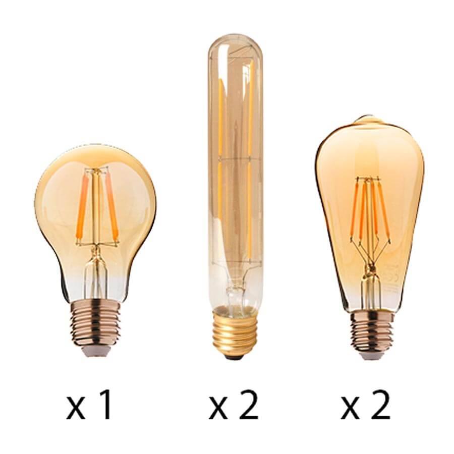 Pack 5 ampoules Market Set